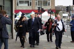 мэр boris johnson london стоковые изображения rf