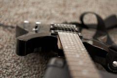 мюзикл аппаратуры электрической гитары Стоковое Фото