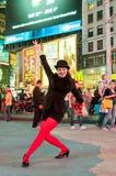 мюзикл chicago актрисы повышает детенышей Стоковое Изображение RF
