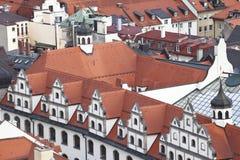Мюнхен. Германия. Бавария, взгляд от верхней части Стоковая Фотография