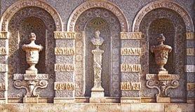 Мюнхен Германия, баварский Национальный музей, деталь фасада Стоковое фото RF