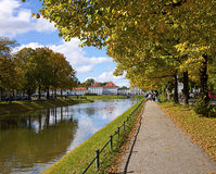 Мюнхен, Германия - замок Nymphenburg Стоковое Фото