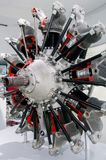 Мюнхен, Германия - 10-ое марта 2016: Плоский двигатель в музее BMW Стоковые Фото