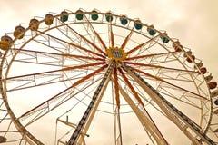 МЮНХЕН, гигантское колесо на Theresienwiese Стоковые Фото