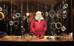 Мюнхен, рождественская ярмарка на Residenz Kaiserhof Стоковые Изображения RF