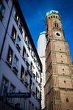 Мюнхен Frauenkirche стоковые изображения rf