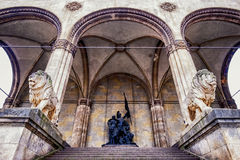 Мюнхен - odeonsplatz Стоковое Фото