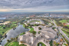 Мюнхен Olympiapark Стоковые Изображения RF