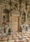 Мюнхен, Residenz, стена грота стоковое изображение