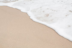 Мягкая волна пляжа Стоковое фото RF