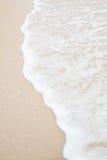 Мягкая волна пляжа Стоковые Изображения RF