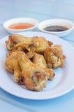 Мягкая жареная курица фокуса Стоковое Изображение
