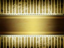 Мягкая золотистая коричневая предпосылка пергамента Стоковое Изображение