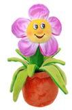 Мягкая игрушка цветка Стоковое Фото