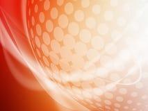 Мягкая красочная изогнутая абстрактная предпосылка Стоковое фото RF