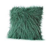Мягкая пушистая изолированная подушка, Стоковые Изображения RF