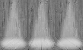 Мягкая серая предпосылка комнаты студии, серый фон пола с spotl стоковые изображения rf