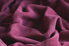 Мягкая текстура бархата Стоковое Изображение