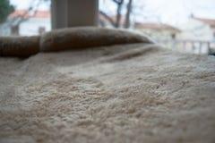 Мягкая текстурированная поверхность на подушке Стоковое Изображение