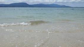 Мягкие волны в море сток-видео