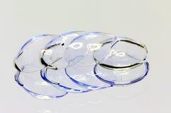 Мягкие контактные линзы Стоковые Фотографии RF