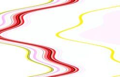 Мягкие линии в оттенках акварели, предпосылке Стоковое фото RF