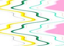 Мягкие пастельные линии в оттенках акварели, предпосылке Стоковая Фотография