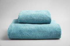 Мягкие полотенца ванны Стоковые Изображения