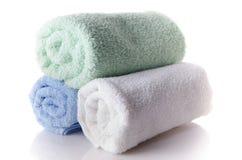 Мягкие полотенца Стоковые Изображения RF
