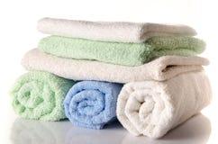 Мягкие полотенца Стоковые Фотографии RF