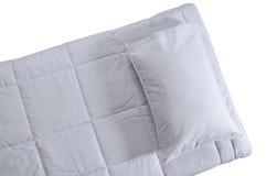 Кровать. Изолировано Стоковые Изображения RF