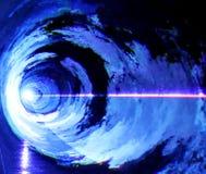 Мягкий голубой свет Стоковые Изображения