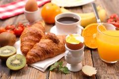 Мягкий завтрак вареного яйца Стоковое фото RF