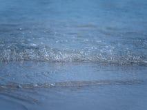Мягкий край морской воды, конец вверх по съемке стоковые изображения