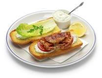 Мягкий мальчик po краба раковины, сандвич подводной лодки стиля cajun Стоковая Фотография