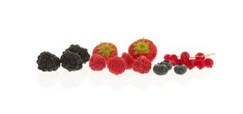 Мягкий плодоовощ изолированный над белизной Стоковая Фотография RF