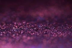 Мягкий фокус фиолетового и серого пола предпосылки, текстуры и конспекта на рождество и Новый Год - смогите быть использовано для стоковые изображения rf