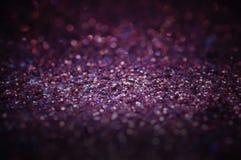Мягкий фокус фиолетового и серого пола предпосылки, текстуры и конспекта на рождество и Новый Год - смогите быть использовано для стоковое изображение rf