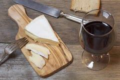 Мягкий французский сыр стоковая фотография rf