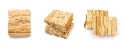 Мягкое изолированное печенье Стоковое фото RF