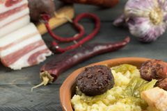 Мякиши с мясом и перцами стоковое изображение rf