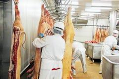 Мясная промышленность Стоковые Фото
