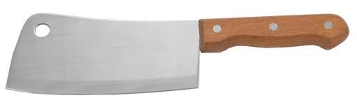 Мясник ножа ножа мяса товаров кухни кухонного ножа ножа нержавеющая сталь металла ручки Стоковые Изображения