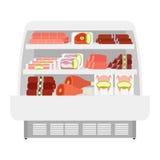 Мясные продукты в магазине Стоковые Изображения