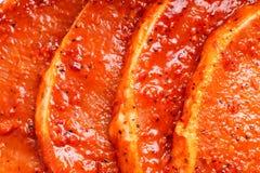 мясо барбекю сырцовое Стоковое Фото