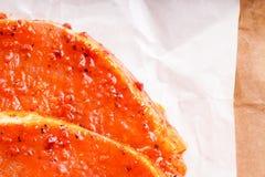 мясо барбекю сырцовое Стоковые Изображения