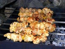 мясо барбекю Стоковое Изображение RF
