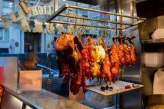 Мясо в окне стоковая фотография rf