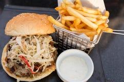 Мясо гамбургера Стоковое фото RF