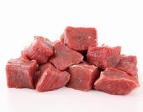 мясо говядины сырцовое Стоковые Фото